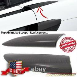 Scopione Carbon Fiber Top Air Intake Covers For Mclaren 16-19 540c 570gt/s 600lt