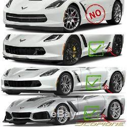 Scopione En Fibre De Carbone De Frein Pour Chevy Scoop Évents Corvette C7 15-19 Z06 Zr1 Gs