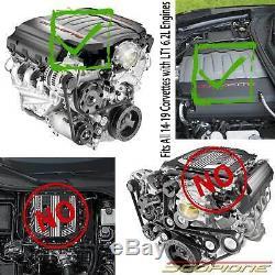 Scopione En Fibre De Carbone Pour Couvercle Du Moteur Chevy Corvette C7 14-19 Et 16-20 Camaro Ss