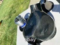 Véritable Gruppe M Carbon Fibre Ram Système D'admission D'air Bmw E46 M3 01-06 Rare