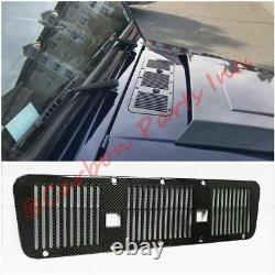 W463 Carbon Fiber Hood Air Intake Grille Vent Cover Mercedes Classe G 2007-2018