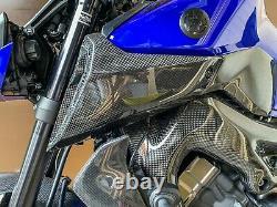 Yamaha Mt09 Fz09 2017-2020 Panneaux De Couverture D'air En Fibre De Carbone