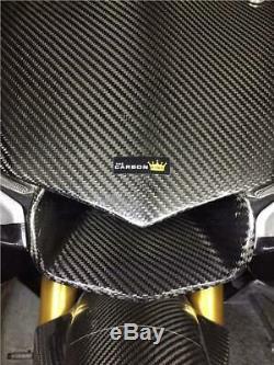 Yamaha R1 2015 19 Apport De Carbone De L'air Garniture Kit (3 Pièces) Voir Desc. Twill Gloss